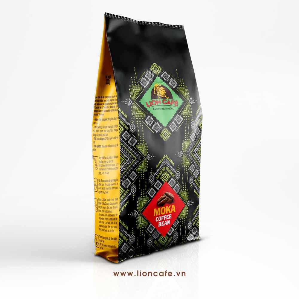 Cafe Hạt MOKA Lion
