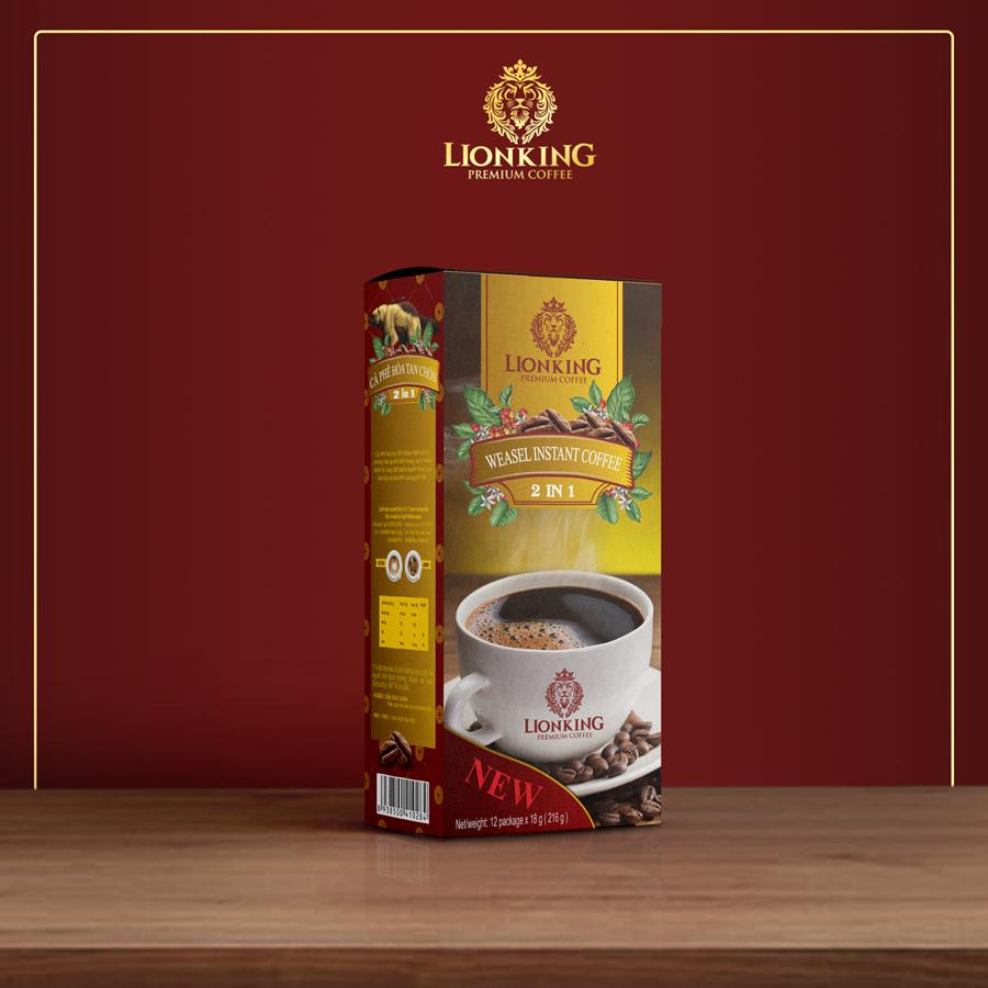 Cafe Hoà Tan LionKing 2in1