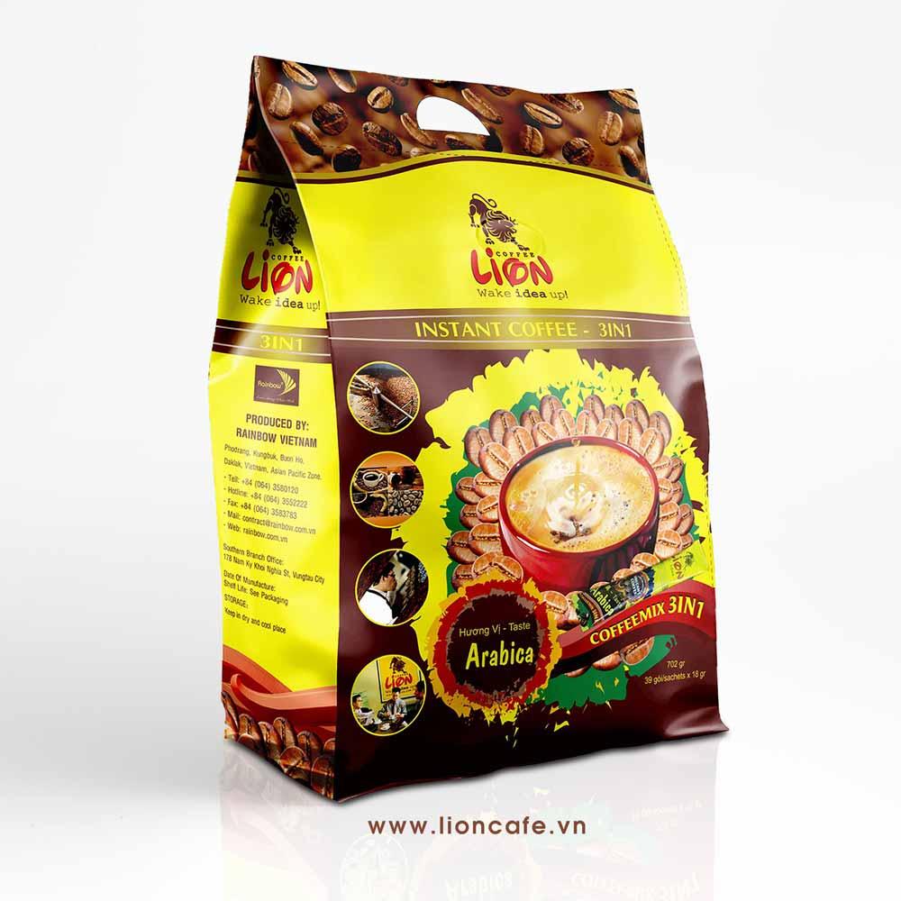 Cà phê Lion Hòa tan 3in1