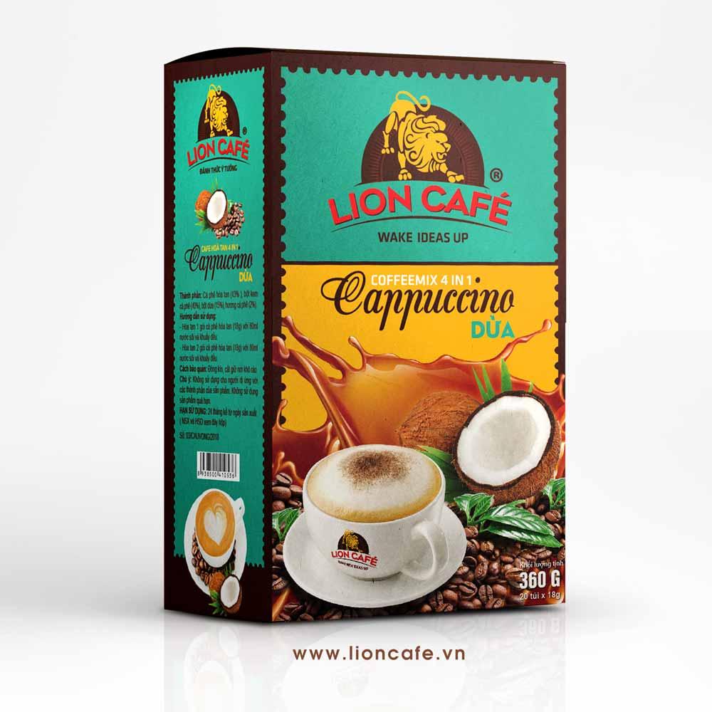 Cà phê hòa tan 4in1 cappucino