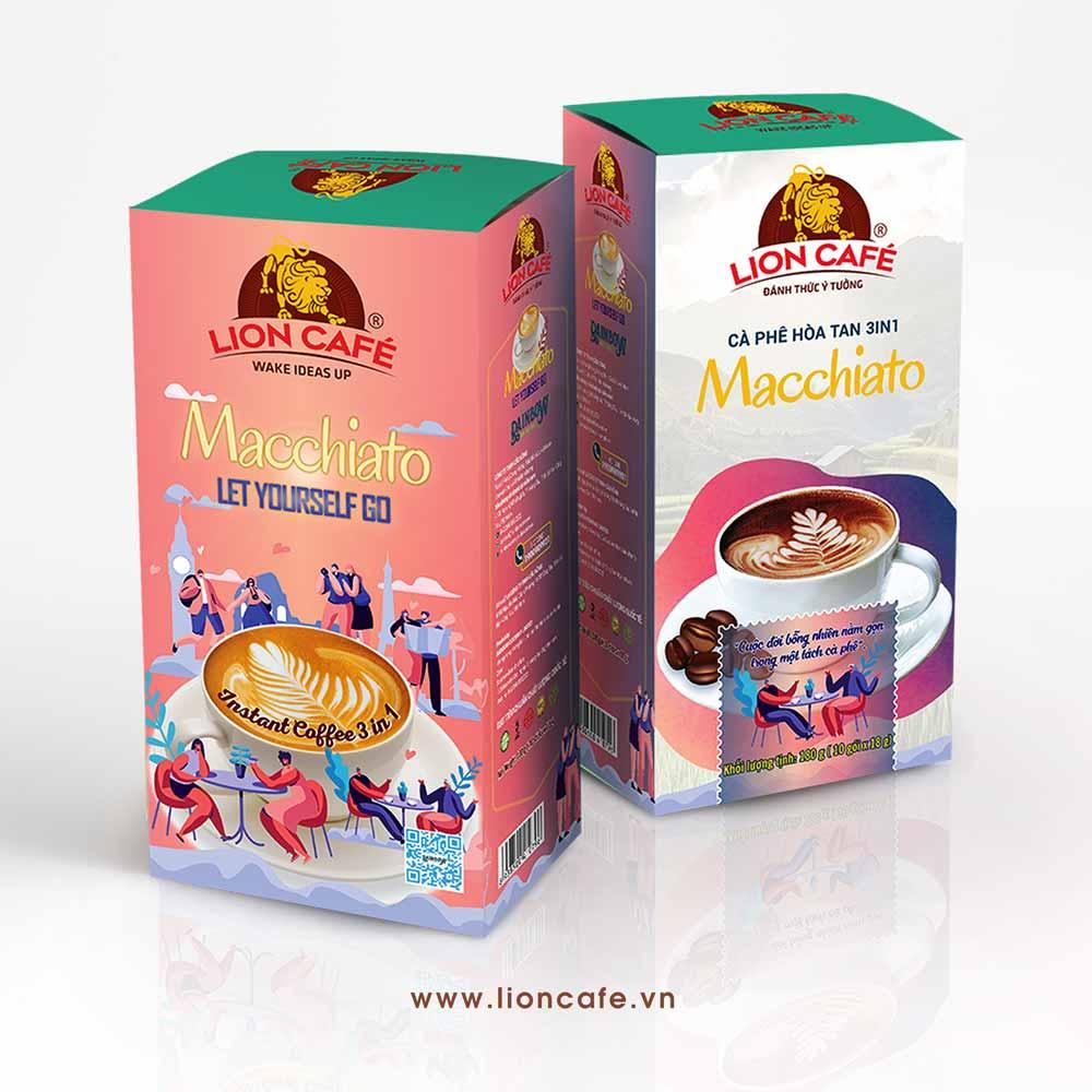 Cà phê hòa tan 3in1 Macchiato