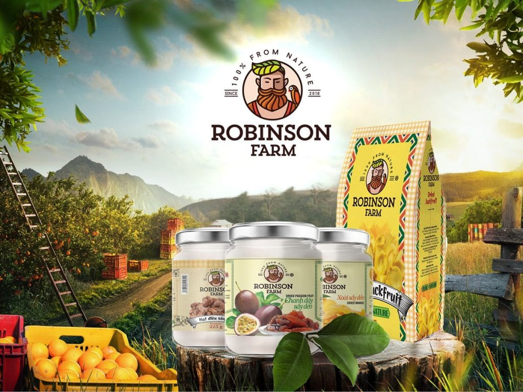 Trái cây sấy ROBINSON